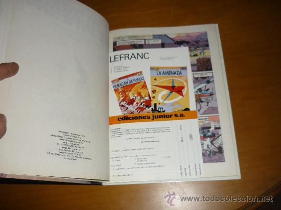 Cómics: LEFRANC Nº 5 LAS PUERTAS DEL INFIERNO.IMPECABLE GRIJALBO PERFECTO - Foto 3 - 36148143