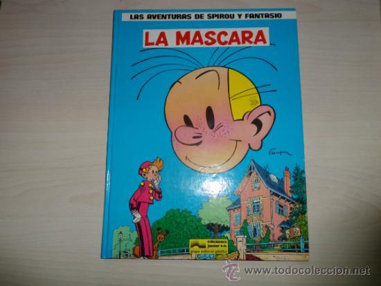 """LAS AVENTURAS DE SPIROU Y FANTASIO - Nº 5 - """"LA MÁSCARA"""" - EDICIONES JUNIOR - AÑO 1988. (Tebeos y Comics - Grijalbo - Spirou)"""