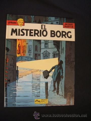LEFRANC - Nº 3 - EL MISTERIO BORG - GRIJALBO - (Tebeos y Comics - Grijalbo - Lefranc)