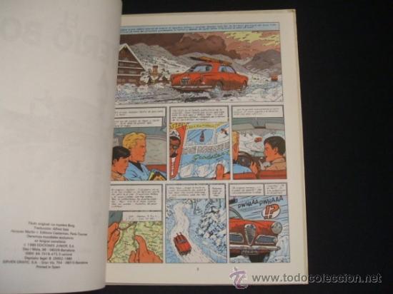 Cómics: LEFRANC - Nº 3 - EL MISTERIO BORG - GRIJALBO - - Foto 3 - 36486940