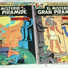 Comics: LAS AVENTURAS DE BLAKE Y MORTIMER Nº1 + Nº2 : EL MISTERIO DE LA PIRÁMIDE(COMPLETA EN 2 TOMOS).. Lote 36942580