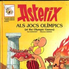 Cómics: ASTERIX ALS JOCS OLIMPICS / AT THE OLYMPIC GAMES - BILINGÜE CATALÁN INGLÉS (1996). Lote 36745310