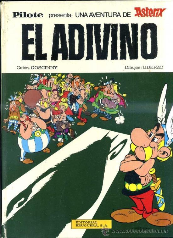 ASTERIX EL ADIVINO - BRUGUERA (1973) (Tebeos y Comics - Grijalbo - Asterix)