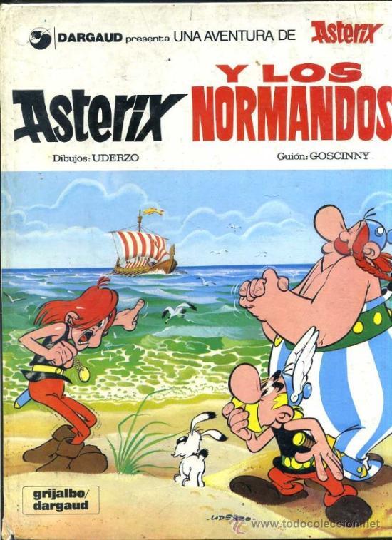 ASTERIX Y LOS NORMANDOS (GRIJALBO DARGAUD, 1980) (Tebeos y Comics - Grijalbo - Asterix)