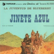 Cómics: TENIENTE BLUEBERRY Nº 14, JINETE AZUL, LA JUVENTUD DE BLUEBERRY 3 - GRIJALBO-DARGAUD - COMO NUEVO. Lote 36896553