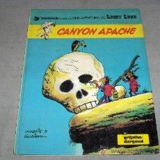 Cómics: LUCKY LUKE Nº 17 CANYON APACHE. GRIJALBO 1981.. Lote 36899442