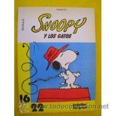Cómics: SNOOPY Y LOS GATOS (DE CHARLES SCHULZ). Lote 37146678