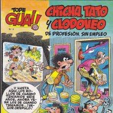 Cómics: COMIC TOPE GUAI CHICHA TATO Y CLODOVEO Nº 3. Lote 37221362