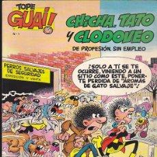 Cómics: COMIC TOPE GUAI CHICHA TATO Y CLODOVEO Nº 1. Lote 37221384
