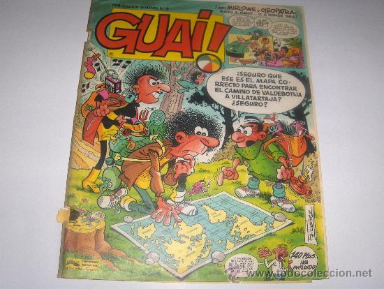 GUAI Nº 6 - GRIJALBO (Tebeos y Comics - Grijalbo - Otros)