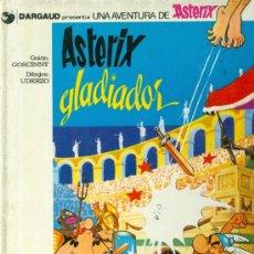 Cómics: ASTERIX GLADIADOR(1980, TAPA DURA). Lote 37704669
