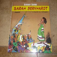 Cómics: LUCKY LUKE : SARAH BERNHARDT DE SALVAT EDITORES 2001. Lote 37480068