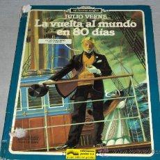 Cómics: LA VUELTA AL MUNDO EN 80 DÍAS. COL. MI LINTERNA MÁGICA. GRIJALBO 1980. MUY DIFÍCIL!!!!!!!!. Lote 37706185