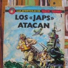 Cómics: LAS AVENTURAS DE BUCK DANNY : LOS JAPS ATACAN. Lote 212650398