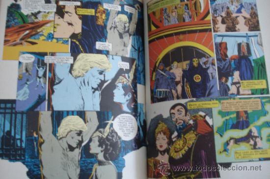 Cómics: FLASH GORDON. Comic Basado en la película de 1980. Bruce Jones & Al Williamson. Editorial Grijalbo. - Foto 3 - 27546293