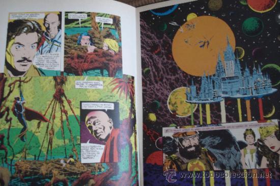 Cómics: FLASH GORDON. Comic Basado en la película de 1980. Bruce Jones & Al Williamson. Editorial Grijalbo. - Foto 2 - 27546293