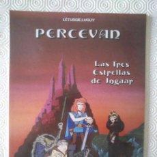 Cómics: PERCEVAN 1: LAS TRES ESTRELLAS DE INGAAR DE LÉTURGIE.LUGUY. Lote 243932390