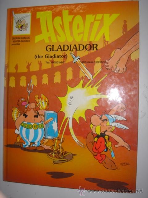 Cómics: ASTERIX GLADIADOR - THE GLADIATOR AÑO 1996 Nº4 - Foto 1 - 38218758