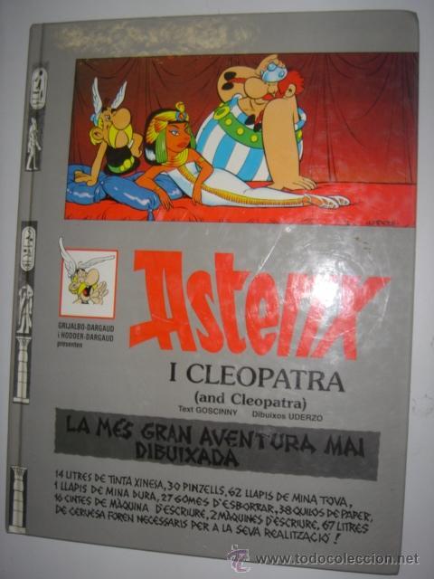 ASTERIX I CLEOPATRA - AND CLEOPATRA AÑO 1996 Nº7 (Tebeos y Comics - Grijalbo - Asterix)