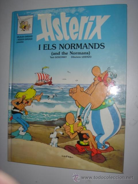 ASTERIX I ELS NORMANDS - AND THE NORMANS AÑO 1996 Nº8 (Tebeos y Comics - Grijalbo - Asterix)