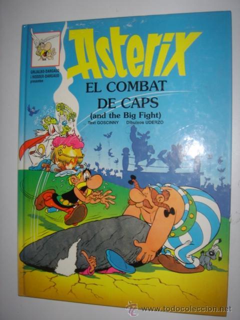 ASTERIX EL COMBAT DE CAPS - AND THE BIG FIGHT AÑO 1996 Nº10 (Tebeos y Comics - Grijalbo - Asterix)