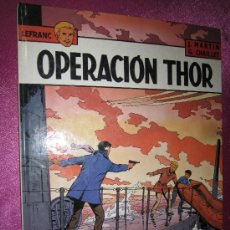 Cómics: LEFRANC Nº 6 OPERACION THOR GRIJALBO BASTANTE BIEN CONSERVADO TAPA DURA.. Lote 38298544