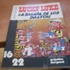 Cómics: LUCKY LUKE . LA BALADA DE LOS DALTON ( VERSION INTEGRA COLECCION 16 / 22 DE GRIJALBO Nº 7 ) (COIB19). Lote 38624925