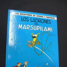 Cómics: LAS AVENTURAS DE SPIROU Y FANTASIO - Nº 3 - LOS LADRONES DEL MARSUPILAMI - GRIJALBO - . Lote 38707774