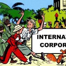 Cómics: CHALAND - INTERNATIONAL CORPORATION - EN CASTELLANO - EDICIÓN NUMERADA CON EX-LIBRIS - TAPAS DURAS. Lote 237332530