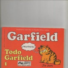 Cómics: GARFIELD.TODO GARFIELD Nº 1 . JIM DAVIS - EDICIONES JUNIOR-GRIJALBO. Lote 43893697
