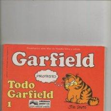 Cómics - GARFIELD.TODO GARFIELD Nº 1 . JIM DAVIS - EDICIONES JUNIOR-GRIJALBO - 43893697