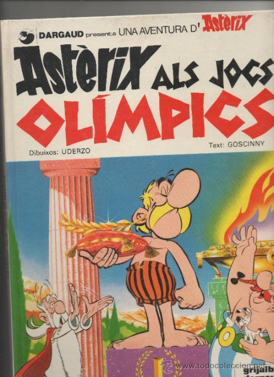 ASTERIX ALS JOCS OLÍMPICS -EN CATALÀ (Tebeos y Comics - Grijalbo - Asterix)