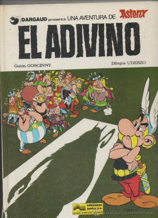 ASTERIX EL ADIVINO. UDERZO-GOSCINY. GRIJALBO DARGAUD (Tebeos y Comics - Grijalbo - Asterix)