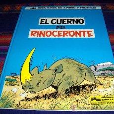 Cómics: SPIROU Y FANTASIO Nº 4 EL CUERNO DEL RINOCERONTE. GRIJALBO 1988. Y DIFÍCIL TAPA DURA. Lote 39000052