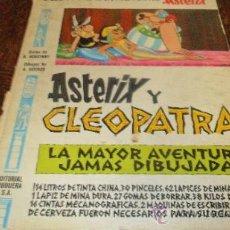 Cómics: ASTERIX Y CLEOPATRA, 1º EDICION PILOTE. Lote 39015562