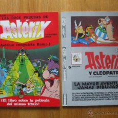 Cómics: LOTE 2 COMICS ASTERIX, LEER. Lote 103994075