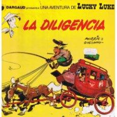 Fumetti: LUCKY LUKE LA DEILIGENCIA 24 . GRIJALBO 1983 (B/A28). Lote 39451315