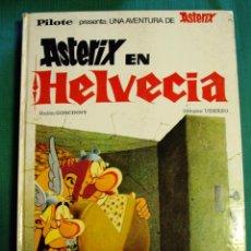 Cómics: ASTERIX EN HELVECIA PILOTE BRUGUERA AÑO 1971. Lote 39479441