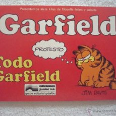 Cómics: GARFIELD.TODO GARFIELD Nº 1 . JIM DAVIS - EDICIONES JUNIOR-GRIJALBO. Lote 39496839