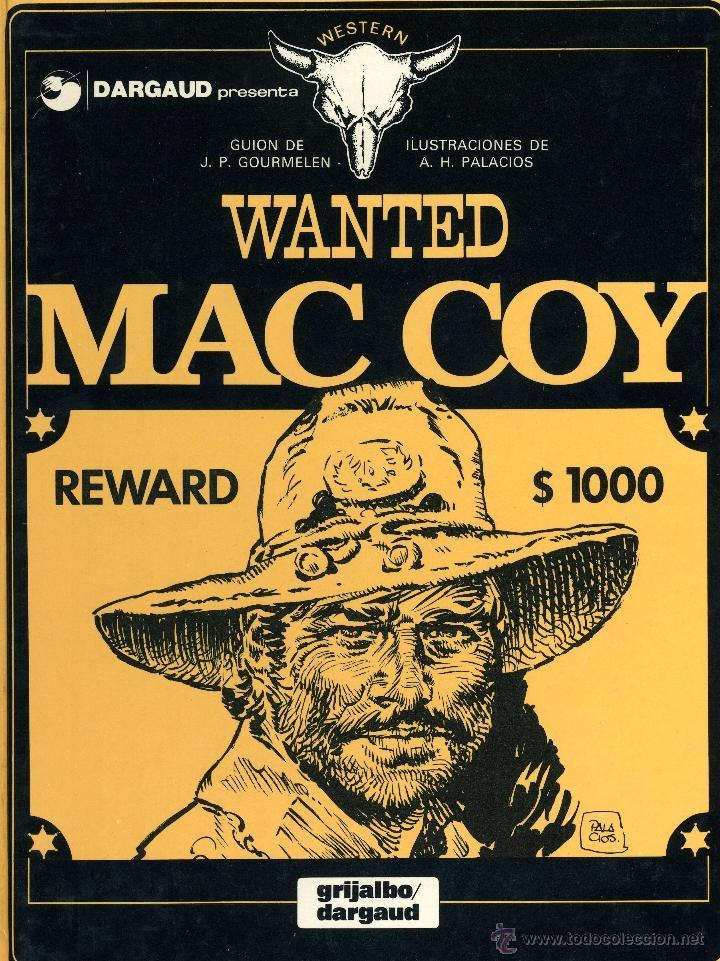 MAC COY 5 (GRIJALBO, 1980). DIBUJOS DE HERNÁNDEZ PALACIOS (Tebeos y Comics - Grijalbo - Mac Coy)