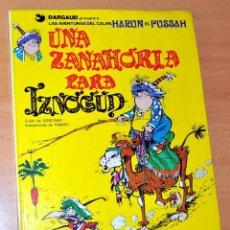 Cómics: CÓMIC TAPA DURA: UNA ZANAHORIA PARA IZNOGUD - EDITORIAL GRIJALBO - AÑO 1990. Lote 39582555