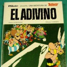 Cómics: LIBRO ASTERIX EL ADIVINO PILOTE 1973. Lote 39642187