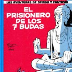 Cómics: LAS AVENTURAS DE SPIROU Y FANTASIO DE FRANQUIN Nº 12 - EL PRISIONERO DE LOS 7 BUDAS - GRIJALBO 1990. Lote 39736948