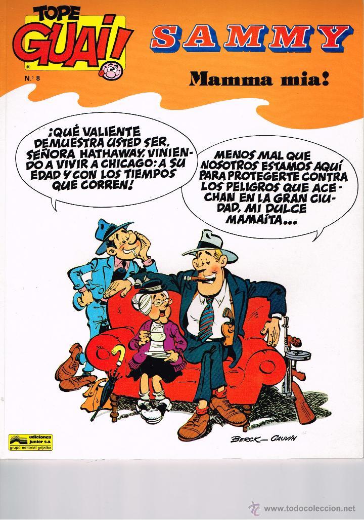 TOPE GUAY Nº 8 - SAMMY - MAMMA MIA - BERCK & CAUVIN - ED. JUNIOR / GRIJALBO (Tebeos y Comics - Grijalbo - Otros)