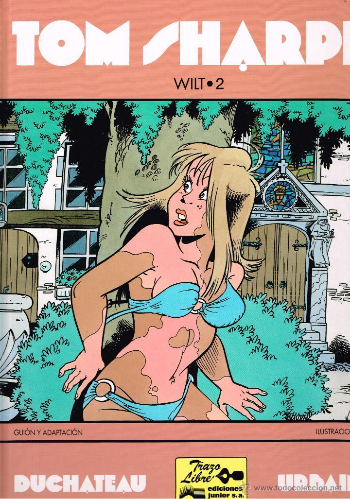 Cómics: LOTE - TOM SHARPE - WILT 1 Y 2 (COMPLETA DOS TOMOS) - DUCHATEAU & URBAIN - ED. JUNIOR / GRIJALBO - Foto 2 - 39828240