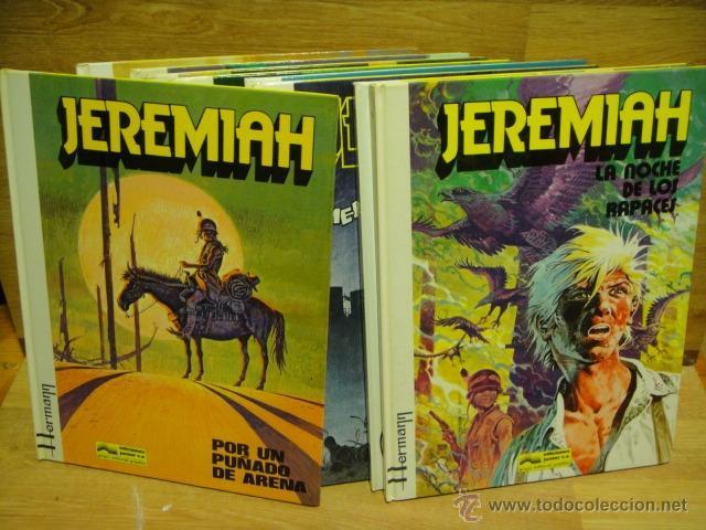 JEREMIAH - GRIJALBO - LOTE DE 9 NUMEROS TAPA DURA (Tebeos y Comics - Grijalbo - Jeremiah)
