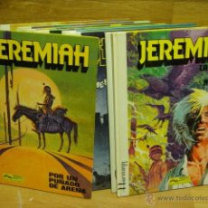 Cómics: JEREMIAH - GRIJALBO - LOTE DE 9 NUMEROS TAPA DURA. Lote 39905275