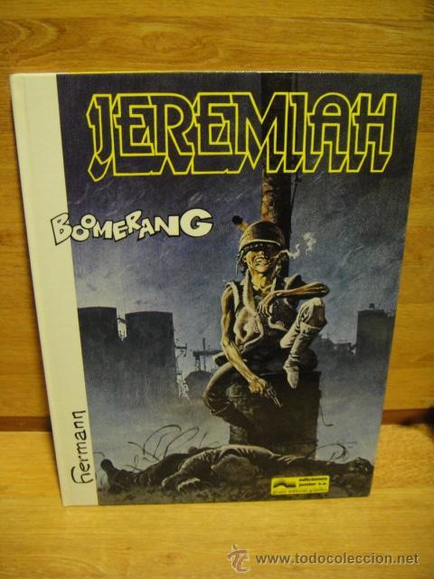 Cómics: jeremiah - grijalbo - lote de 9 numeros tapa dura - Foto 5 - 39905275