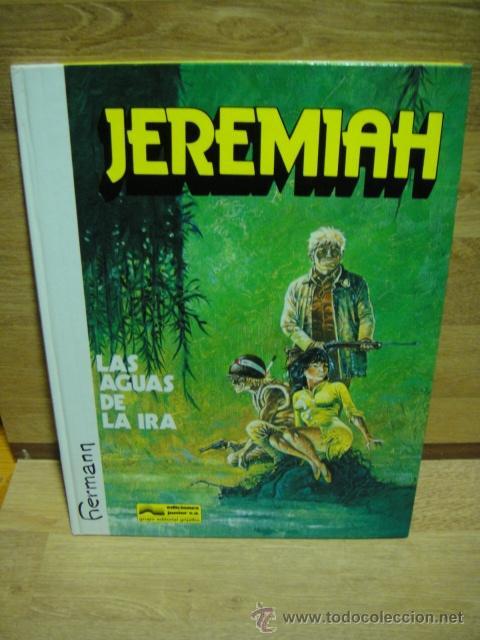 Cómics: jeremiah - grijalbo - lote de 9 numeros tapa dura - Foto 7 - 39905275
