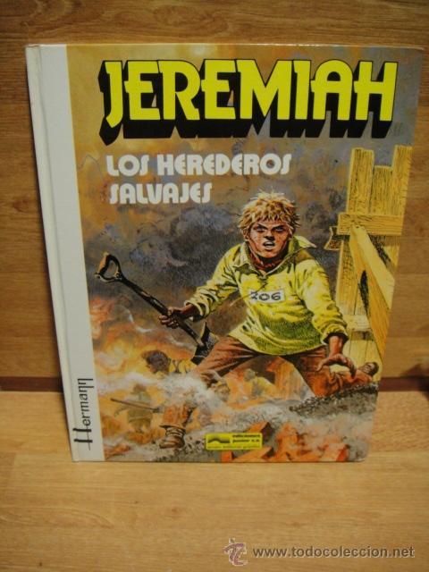 Cómics: jeremiah - grijalbo - lote de 9 numeros tapa dura - Foto 10 - 39905275